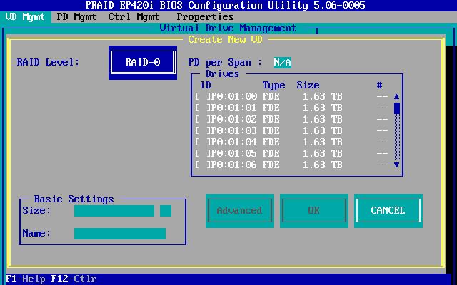 Configuring Hardware RAID Arrays on Fujitsu Primergy - AN!Wiki
