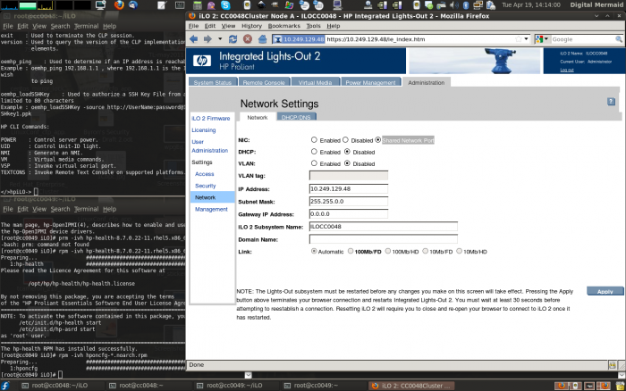 Configuring HP iLO 2 on EL6 - AN!Wiki