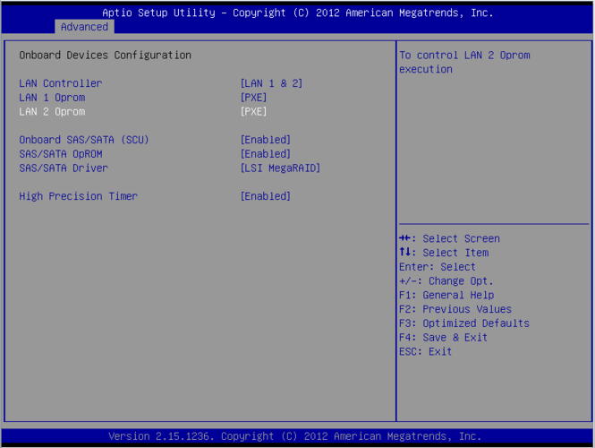 Configuring Network Boot on Fujitsu Primergy - AN!Wiki